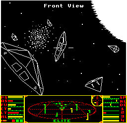 BBC Micro Elite screenshot